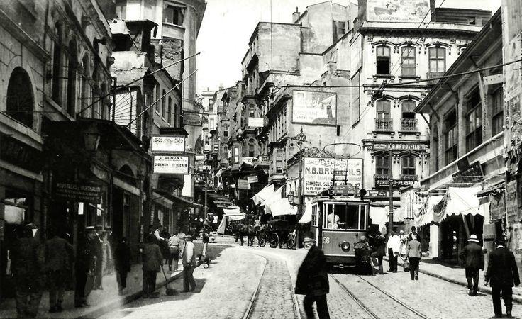 Karaköy - Yüksekkaldırım / 1914