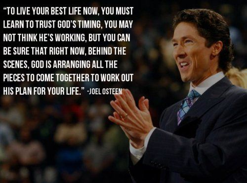 "Meet the extraordinary Joel Osteen, who for more than a decade has become a powerful inspiration and encouragement to millions of people who watch him on television and listen to his sermons. He is a pastor, author and television host who leads America's largest Christian congregation, Lakewood Church in Houston, Texas. ""The main rule to me is to honor God with your life"". Joel Osteen http://www.thextraordinary.org/joel-osteen"