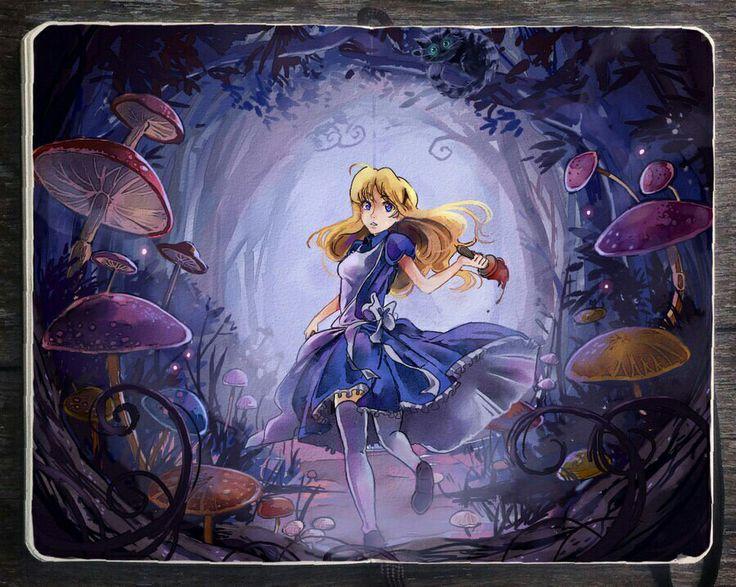 Alice running