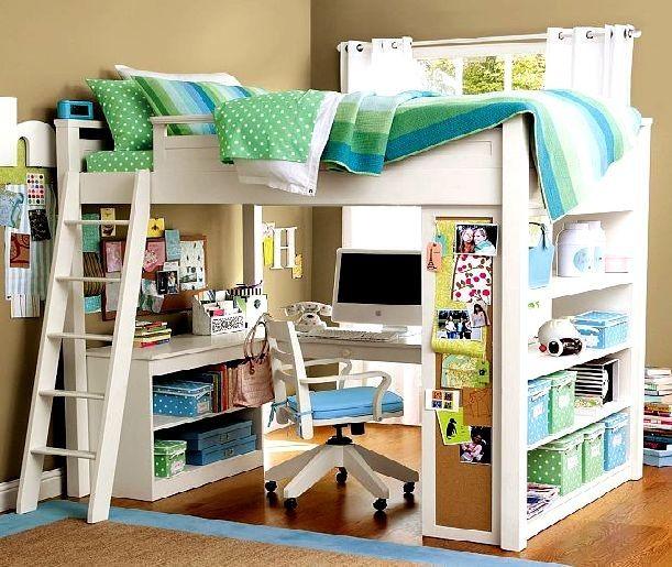 comment construire un lit mezzanine pour la maison pinterest lit mezzanine mezzanine and. Black Bedroom Furniture Sets. Home Design Ideas