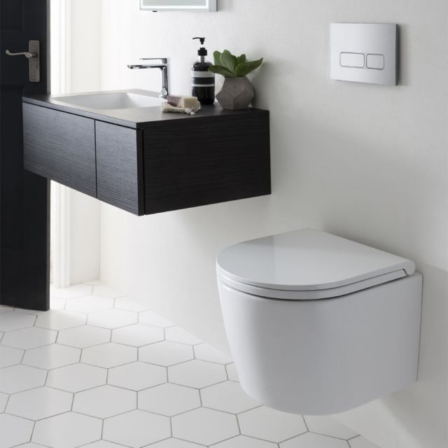 Image for wall-mounted toilets