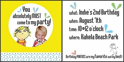 Charlie and Lola party ideas