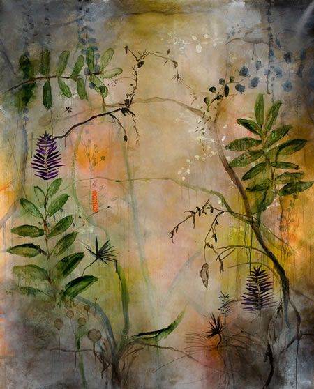 Change in the Natural World, encaustic