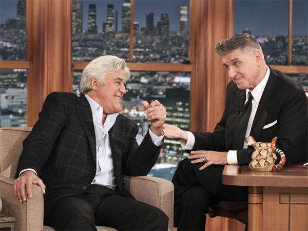 Late Late Show With Craig Ferguson': Jay Leno Gives Host Great�Sendoff