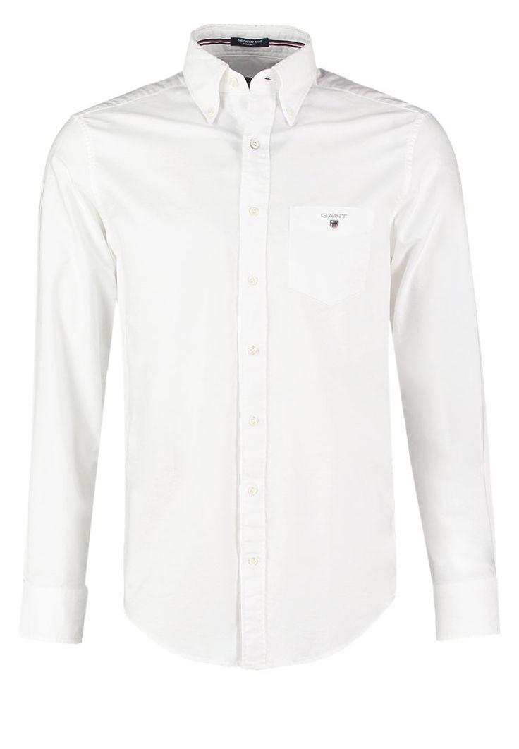 GANT REGULAR FIT Hemd weiß Bekleidung bei Zalando.de | Material ...