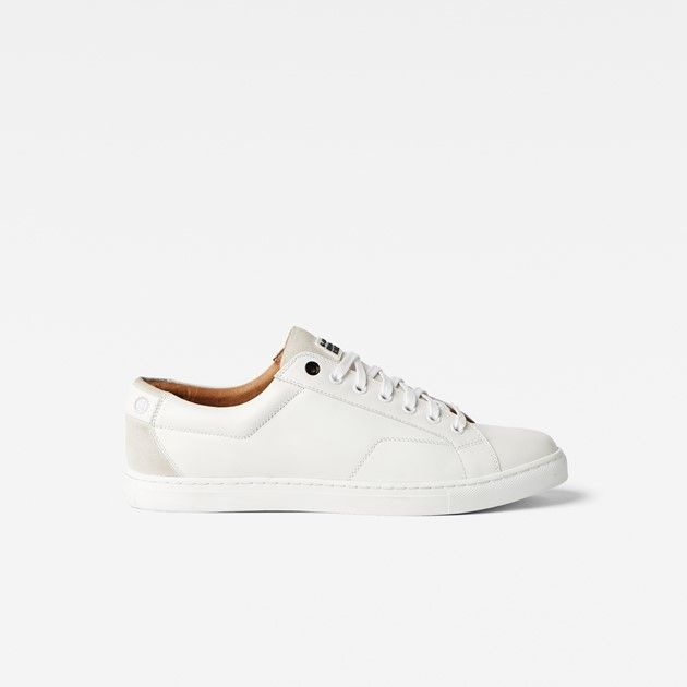 Presented in a single shade, these monotone leather sneakers offer a progressive take on sneaker style.