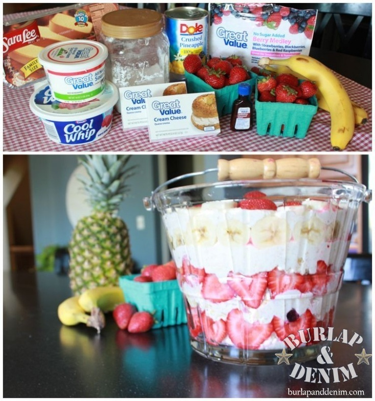 The Best Ever Tropical Berry Trifle