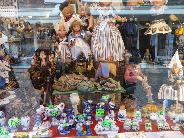 Souvenir shop, Amsterdam, Netherlands. October 2008