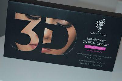 BloggeuseARoulettes: MASCARA YOUNIQUE MOODSTRUCK 3D FIBER LASHES +