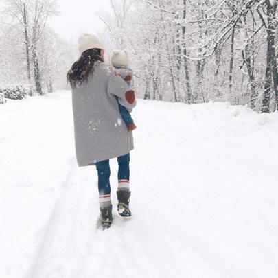 Snowy strolls ❄️ http://liketk.it/2q0bo @liketoknow.it #liketkit