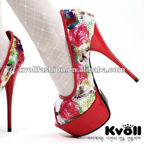 Жеская обувь на высоких каблуках