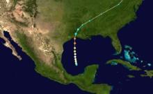 June 27, 1957 – Hurricane Audrey demolishes Cameron, Louisiana, killing 400 people.