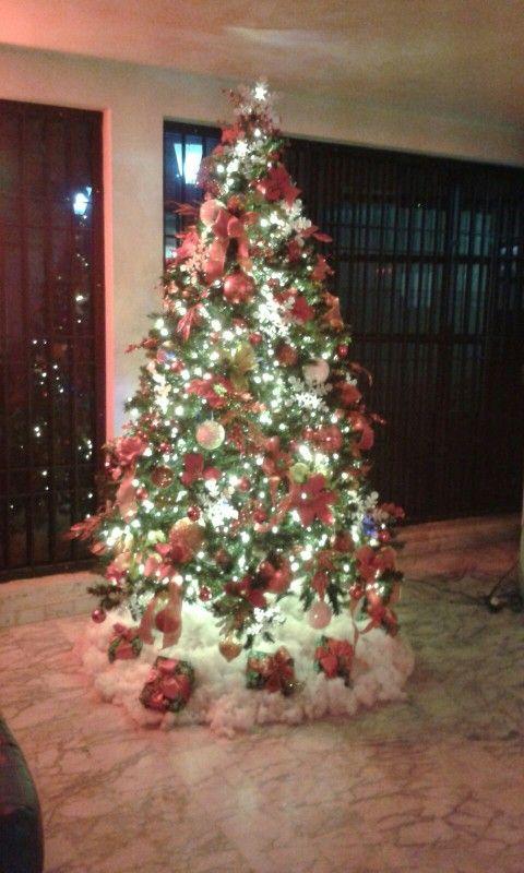 Arbol de Navidad. Hotel Euro. Navidad 2015. Maracaibo. Venezuela.