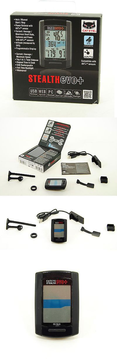Cycle Computers and GPS 30108: Cateye Stealth Evo Plus Gps Cycling Computer Cc-Gl51 -> BUY IT NOW ONLY: $69.87 on eBay!