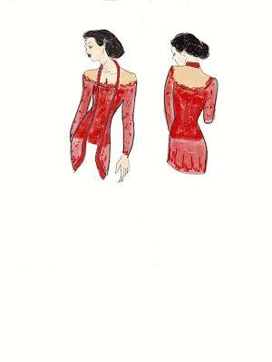 Kebaya Merah Kutu baru available at www.kebayadesign.com