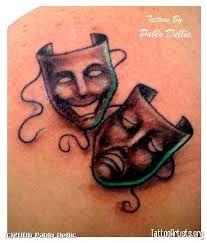 Mask // Theatre // Tattoo