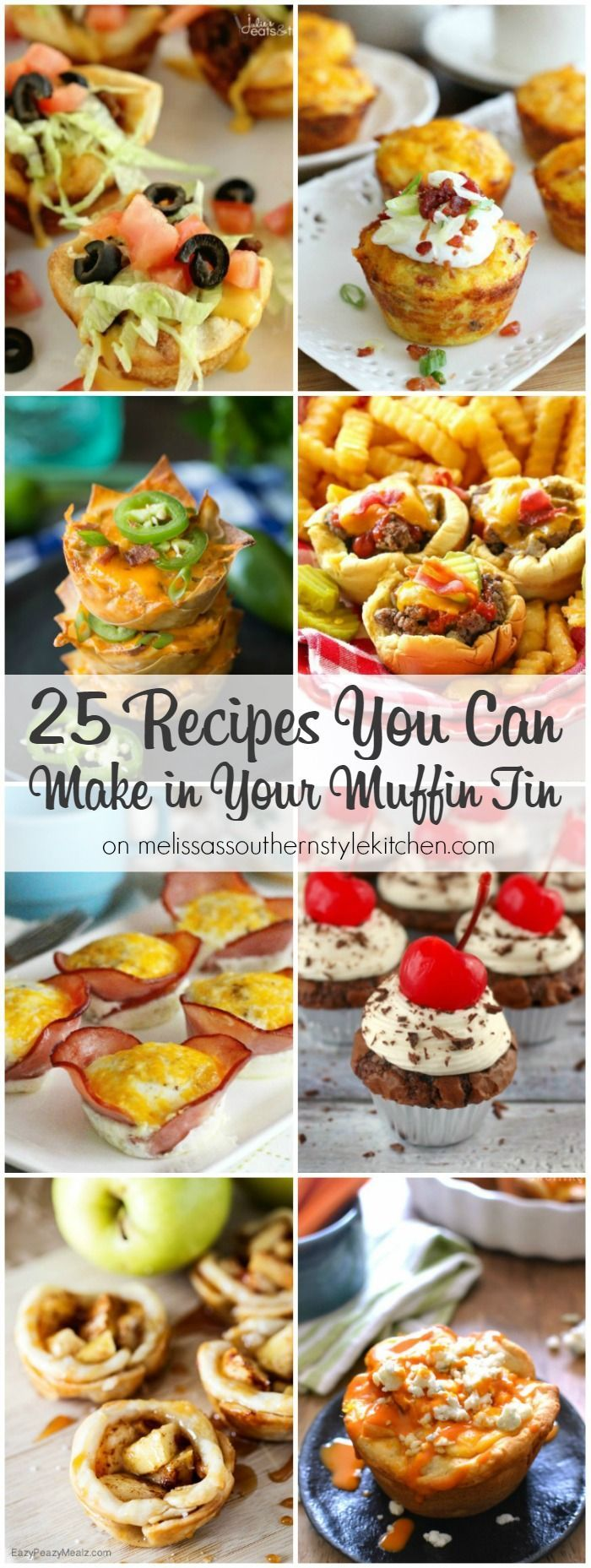 25 Recipes You Can Make in Your Muffin Tin HERO                                                                                                                                                                                 More