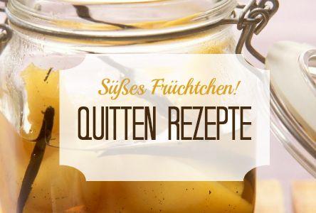 Quitte - der süße Herbst-Star verzaubert als Konfitüre, als köstlicher Kuchen, in herzhaften Eintöpfen und Salaten. Hier geht´s zu den Rezeptideen mit Quitte: http://eatsmarter.de/rezepte/zutaten/quitte-rezepte