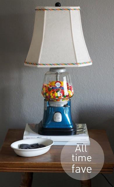 gumball machine lamp-DIY