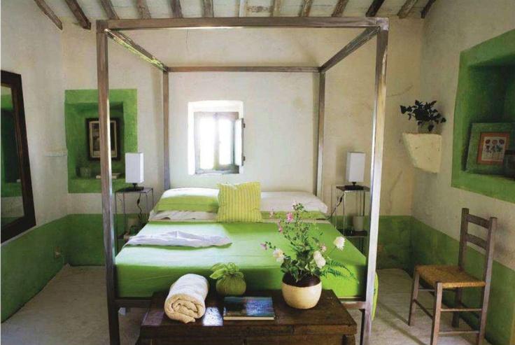 camera da letto verde pistacchio  the house of my dreams  Pinterest