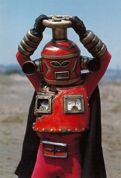 "Faucet Mask (蛇口仮面) from ""Himitsu Sentai Goranger"" 1976"
