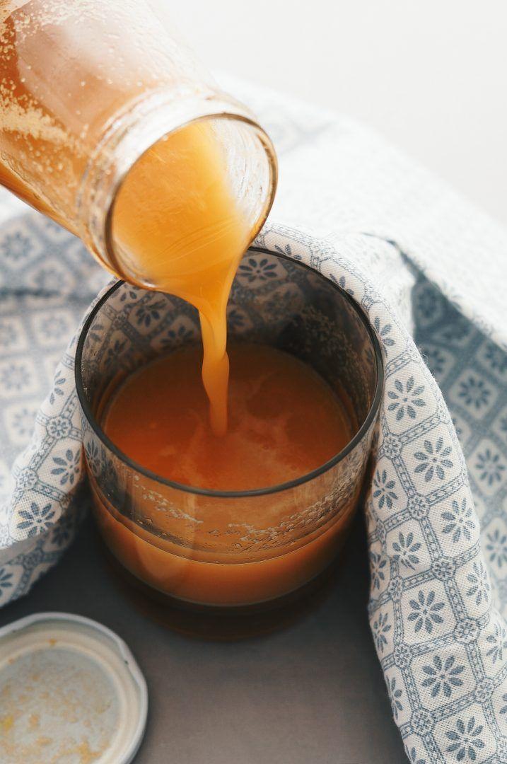 Winter Vitamin Juice - Centrifuga di mele , carote , limone e zenzero 8