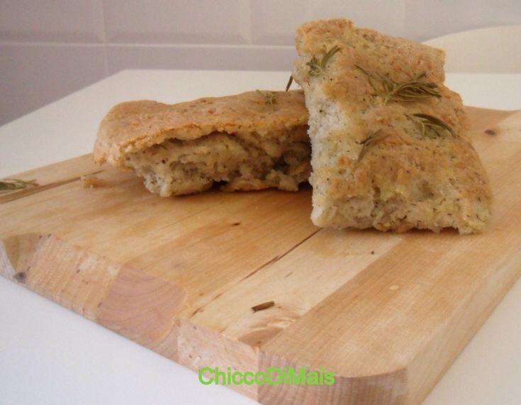 focaccia di grano saraceno ricetta senza glutine il chicco di mais