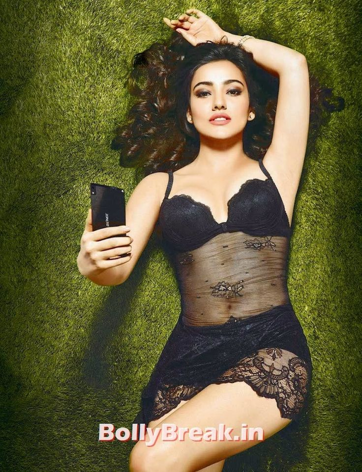 Neha Sharma Pics in Red, Black Nighty & Bikini
