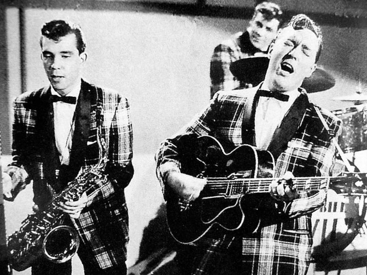 Bill Haley and The Comets https://sites.google.com/site/connecticutbackgammon/rock-roll-youtube