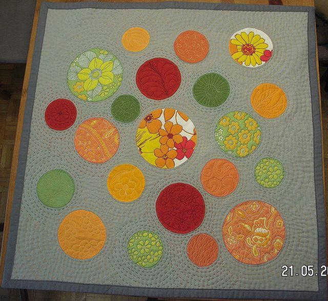 Joanna Szymczyk - Wirujące kwiatoidy - Spinning flowers by Joanna Szymczyk