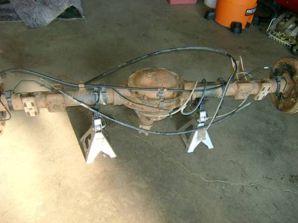2008 silverado rear end (kings mountain) $700