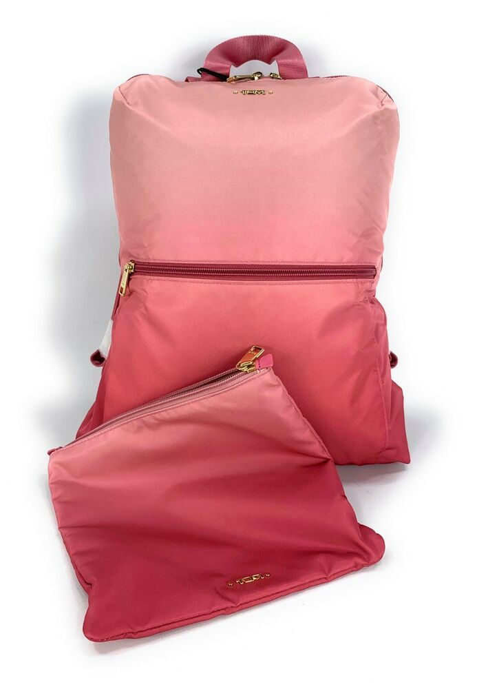 cc245859e04f Tumi Just In Case Lightweight Fold Up Travel Backpack Set Pink Ombre ...
