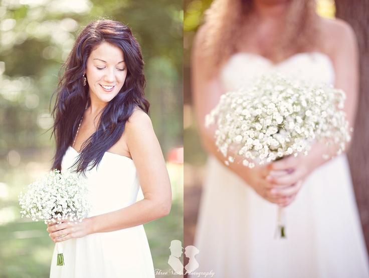 Bridesmaids= Loving those babys breathe bouquets!