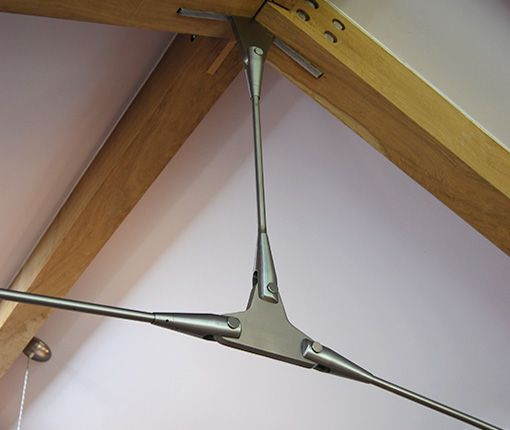 Image showing the tie bar in place