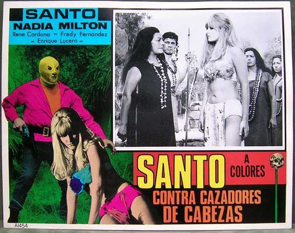 Santo Contra Cazadores de Cabezas (1969)   Santo contra los cazadores de cabezas (Santo vs. the Headhunters, 1969)