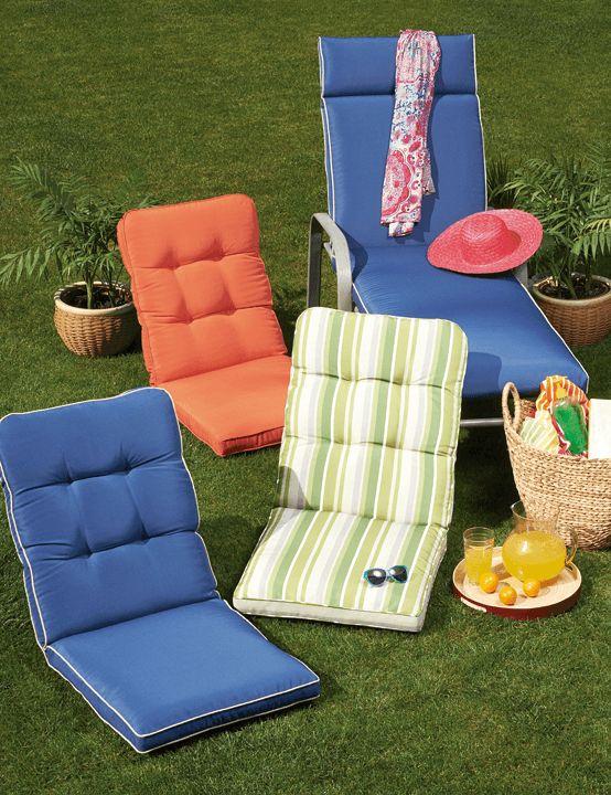 Nada mejor que disfrutar la primavera tomando un poco de sol. En easy.cl encuentras reposeras y cojines para sillas de terraza.  ¡Cambia, vive mejor!  #Primavera #Deco #Terraza #EasyTienda #TiendaEasy #Living #Accesorios #Colores #primaveraverano #cambiavivemejor