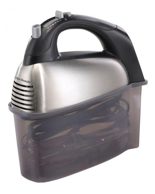 SoftScrape™ 6 Speed Hand Mixer with Case - 62637 - available from Hamilton Beach