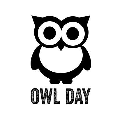 Owl logo design, fictive, by Kia Lange
