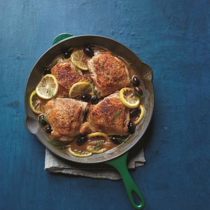 Thighs with Lemon & Olives http://www.prevention.com/food/8-chicken-recipes-like-youve-never-had/slide/5