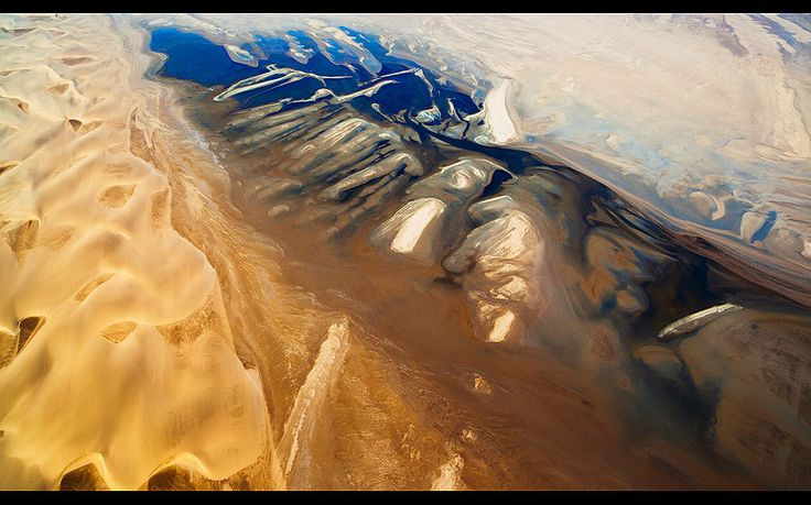 Full time professional photographer Theo Allofs specialises in nature and   landscape photography. His unique view from above…
