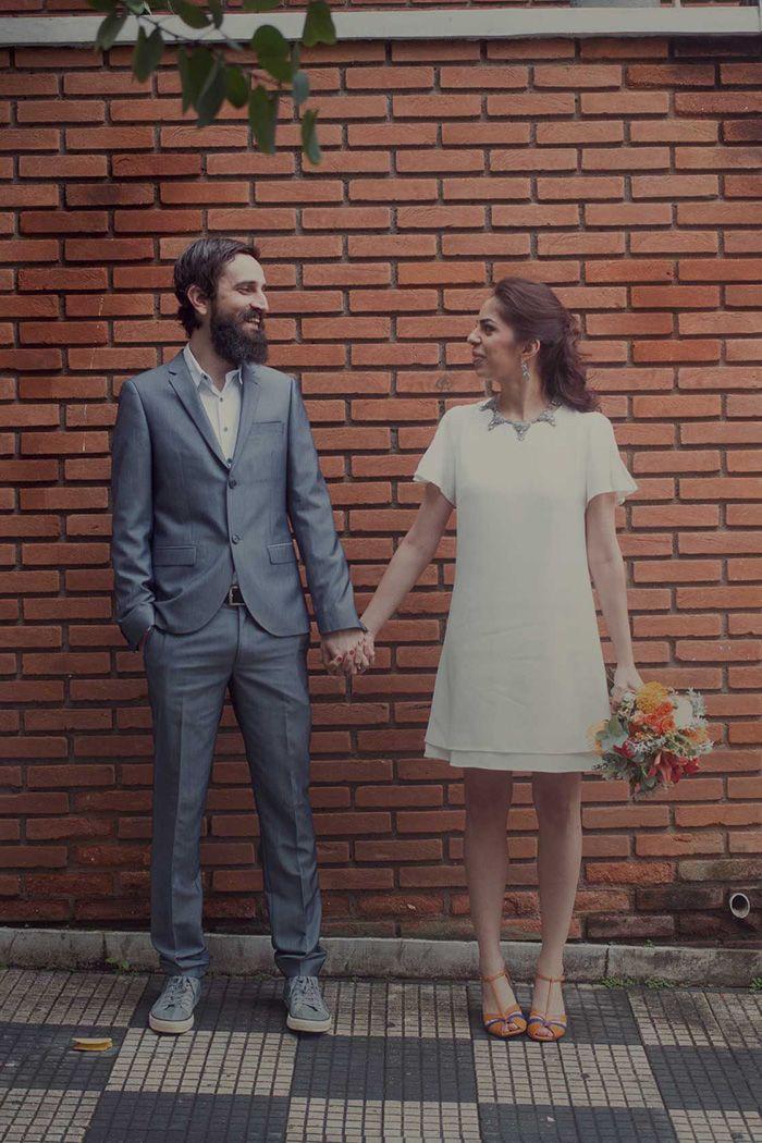 Noivo + Noiva: casamento civil