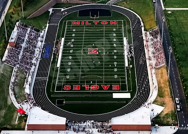 Milton High School Field in Milton, GA Super, nice view from above!