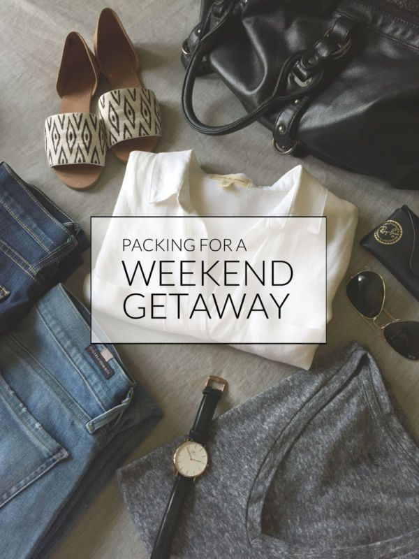 A weekend is just a few days, tops, meaning there's no excuse to bring your entire wardrobe with you when you have plans over a weekend. Never over pack again with this handy guide to help you pack for...