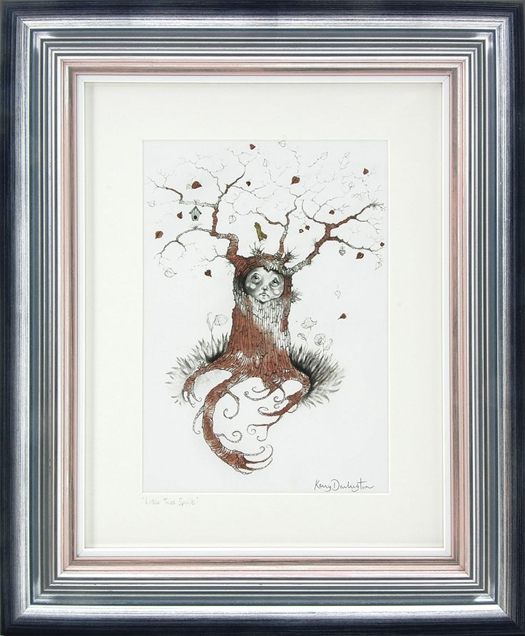 The face on this little chap just melts your heart! Beautiful foil enhancing brings this piece gently to life. 'Little Tree Sprite' To see and buy in the gallery now