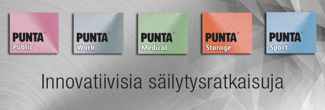 Juha Punta Oy suunnittelee ja valmistaa korkealaatuisia ja kestäviä säilytyskalusteita, jotka parantavat tilojen toimintaa ja käytännöllisyyttä erilaisissa käyttöympäristöissä. Yli 30-vuotias yritys on koko toimintansa ajan panostanut suomalaiseen laatuun ja luotettavuuteen, innovatiiviseen suunnitteluun ja designiin, palveluun sekä tuotteiden elinkaaren hallintaan.