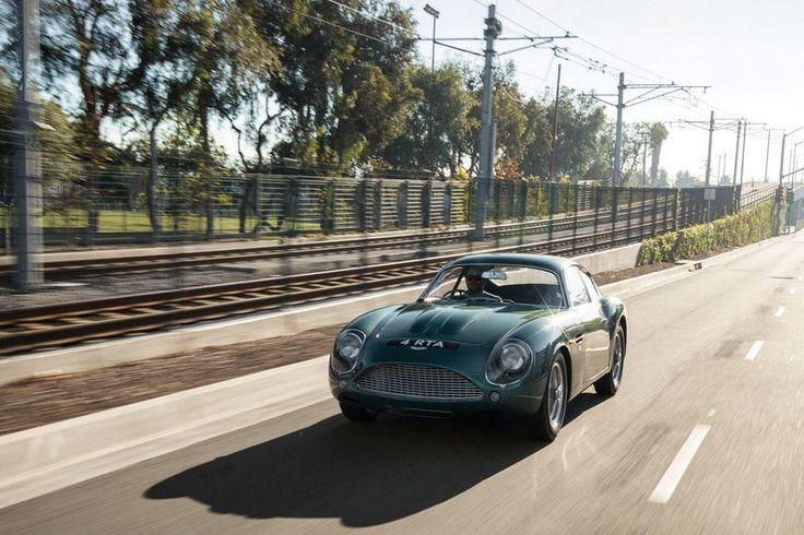 The Ultra rare Aston Martin DB4GT Zagato Up For Auction