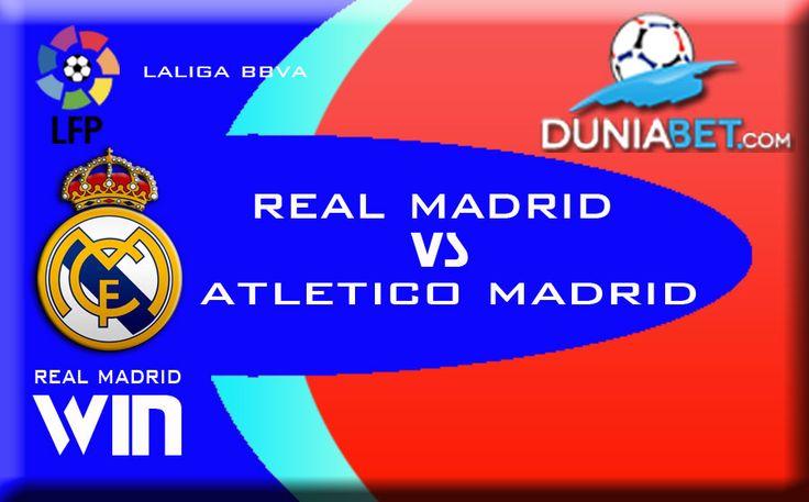 Prediksi Skor Judi Bola Derby Kota Madrid : Real Madrid vs Atletico Madrid