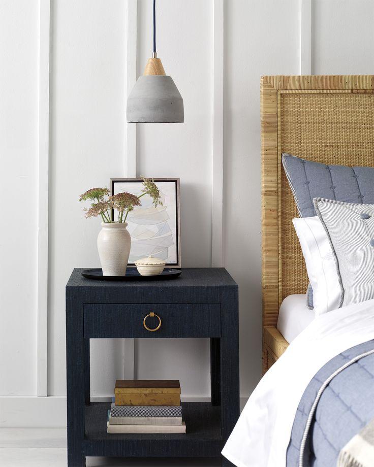 Master bedroom details   Image via Serena & Lily