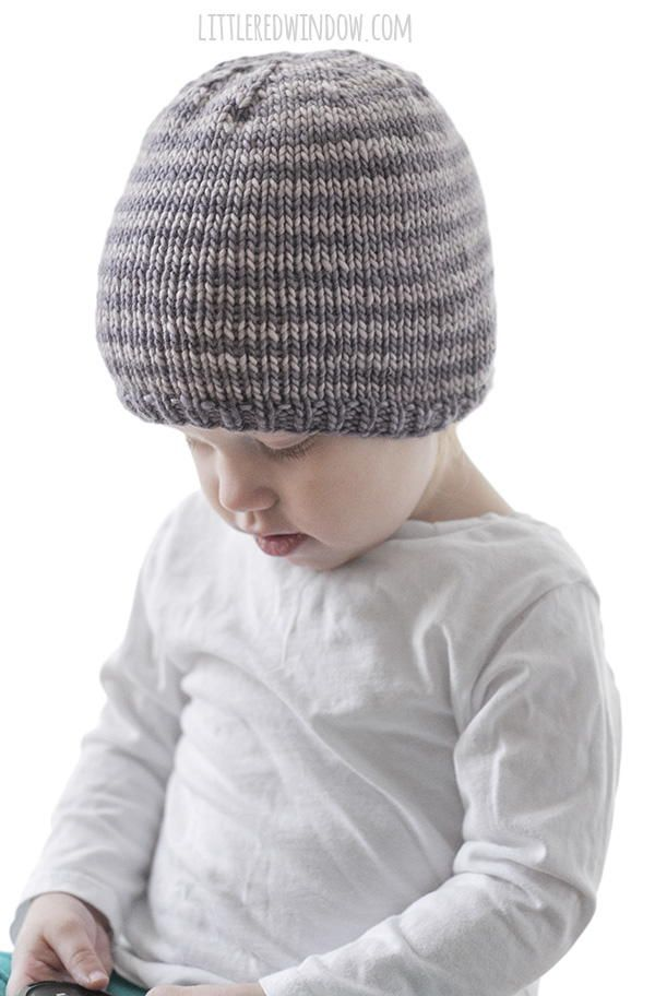 e9188fc64 Easy Striped Baby Hat