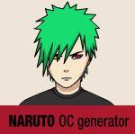 Naruto OC generator - MALE by V3rc4.deviantart.com on @DeviantArt